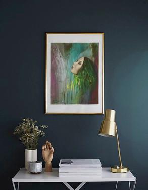 Inhale over desk blue wall.jpg
