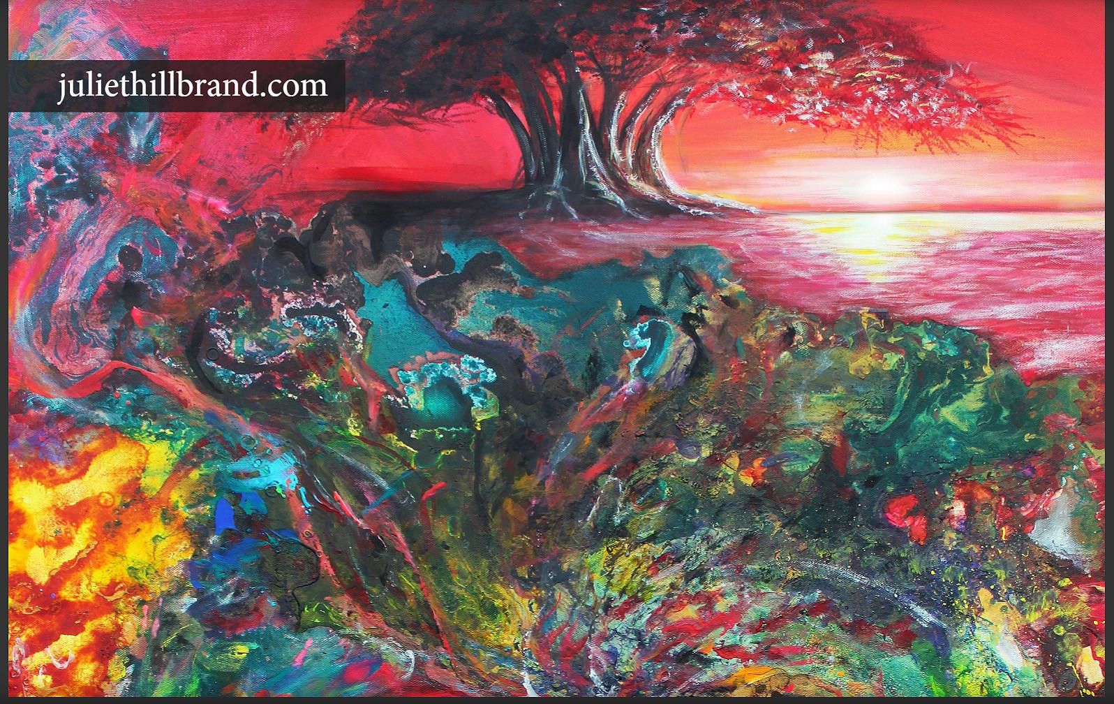 pg 40-41 Tree of Life pg  - Art Reveal M