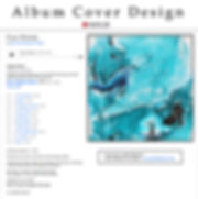 Album Cover Design - SOLD Art by Juliet