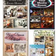 For online portfolio - 5 boards done for