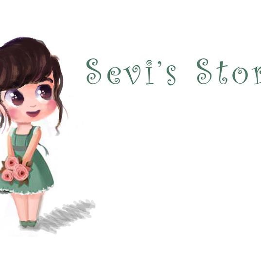 Sevi's Stories - Illustration Art Sample