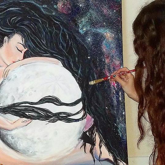 Deva - Goddess of Moonlight by Juliet Hi