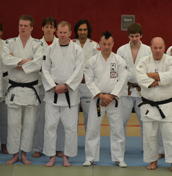 Sensei Chris in the line up