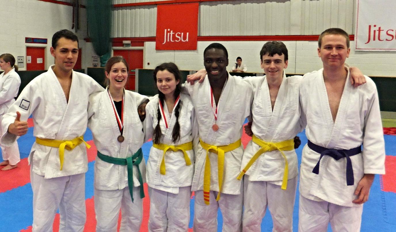 Surrey Jitsu medals