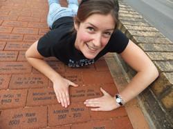 Find our anniversary brick