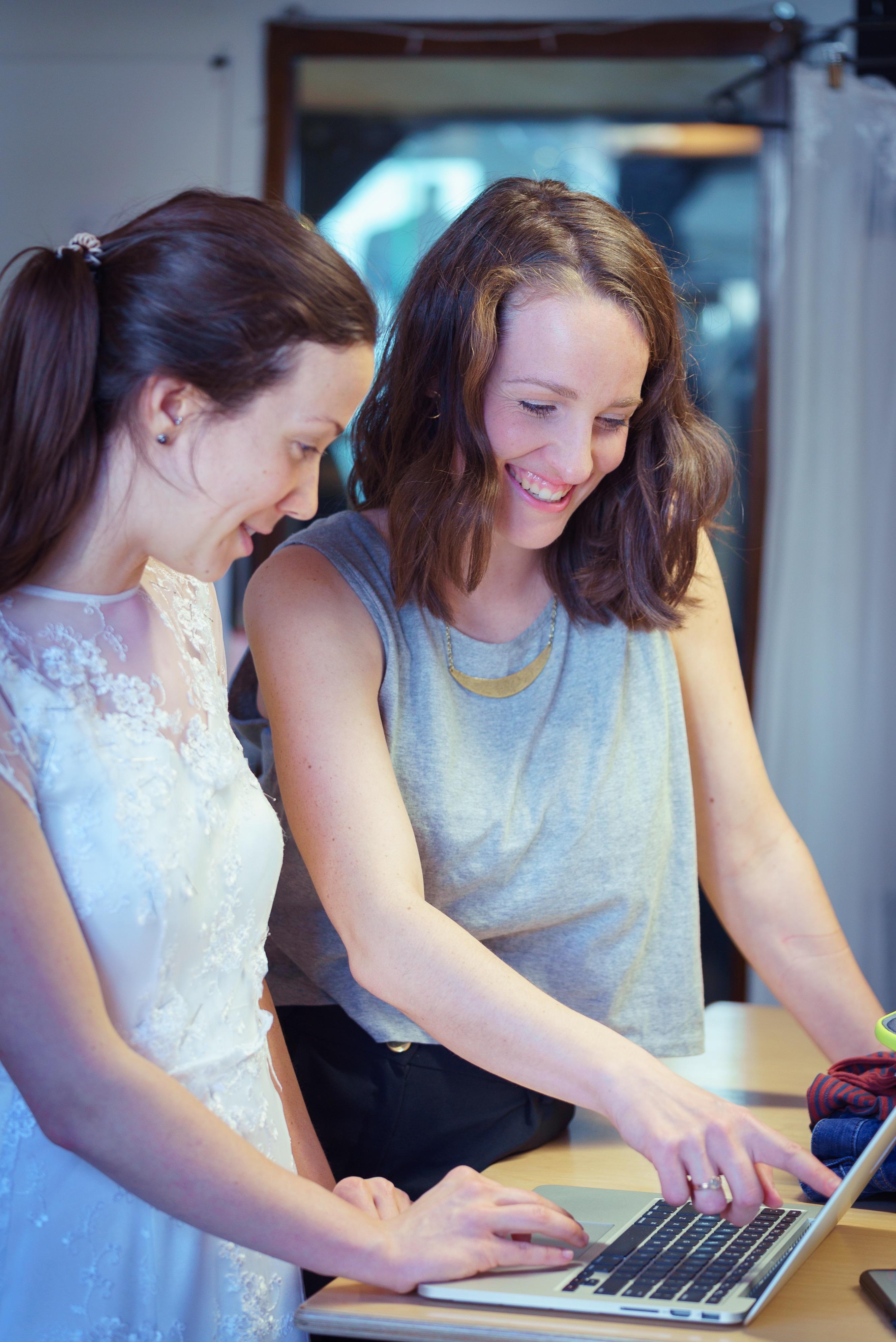 Brautkleid Anprobe und Beratung