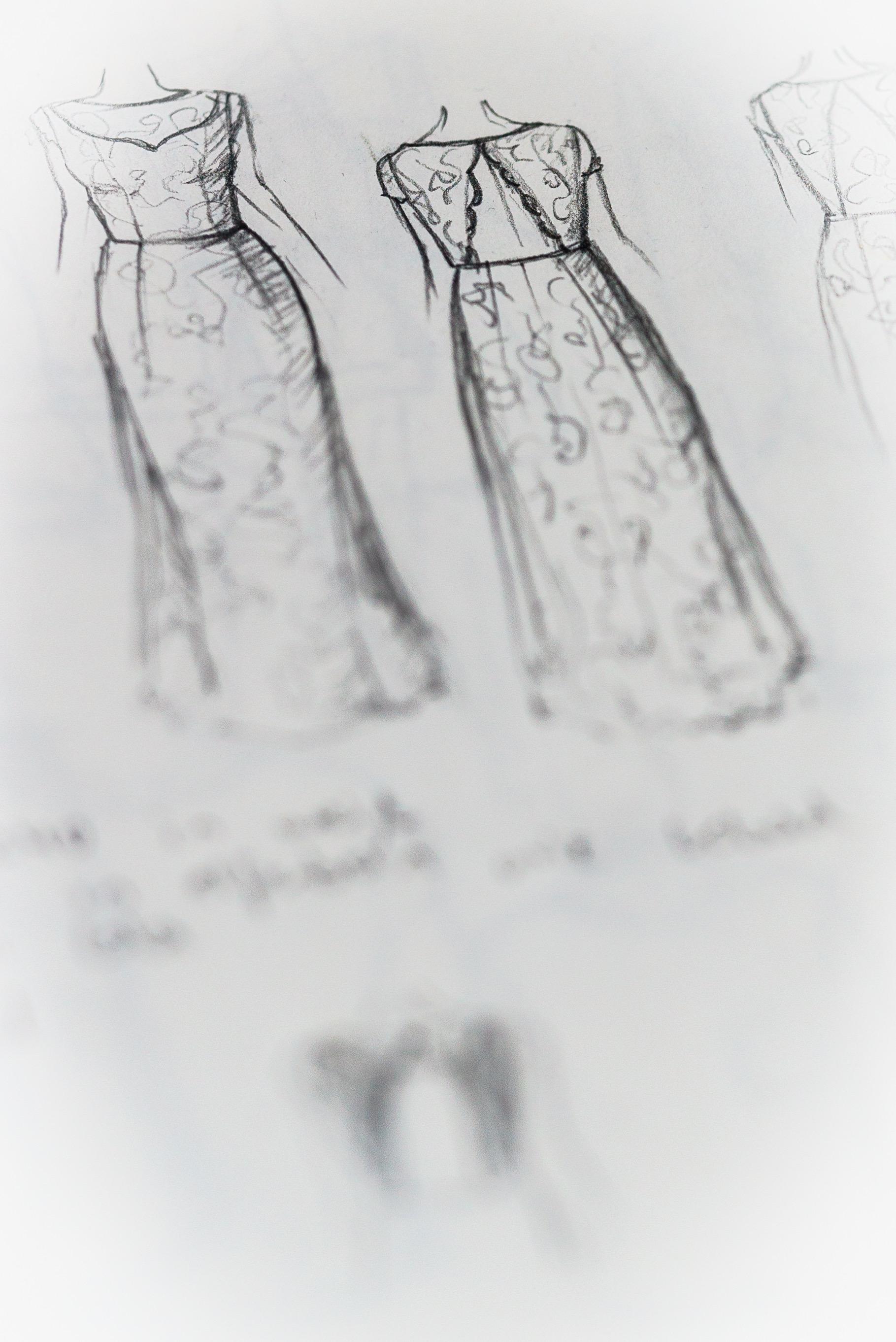 Skizzen entstehen