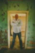 Reed Feilds, man, Doorway, old door, Vintage