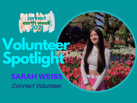 Volunteer Spotlight: Sarah Weiss