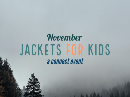 NEW EVENT: Jackets for Kids