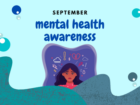 NEW EVENT: September Mental Health Awareness