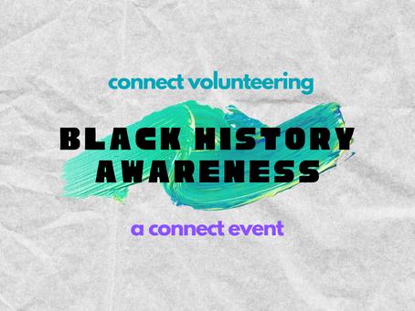 NEW EVENT: Black History Awareness