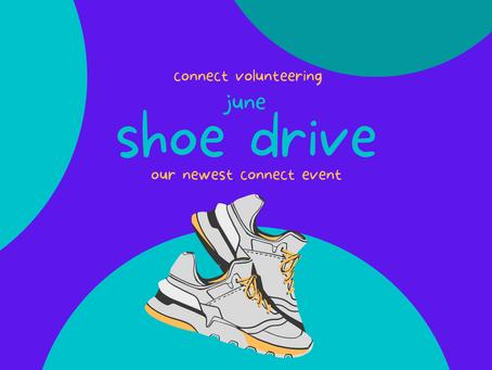 NEW EVENT: June Shoe Drive
