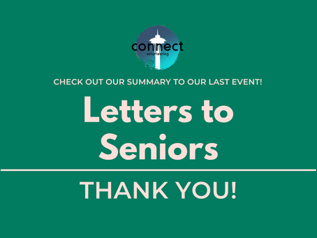 August Letters to Seniors RECAP