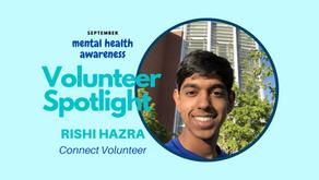 Volunteer Spotlight: Rishi Hazra