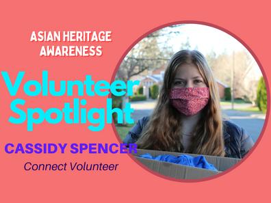 Volunteer Spotlight: Cassidy Spencer