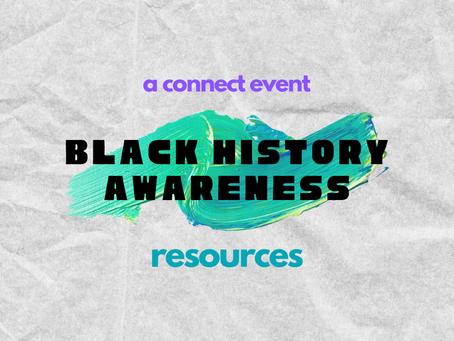 Black History Awareness Resources