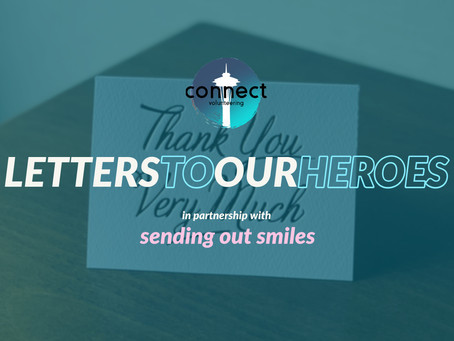 NEW EVENT: Letters to our Heroes
