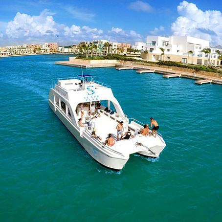 Punta Cana Party Boat with Snorkeling