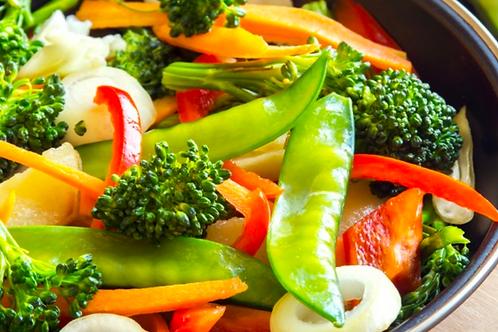 Wok de légumes / Groentenwok