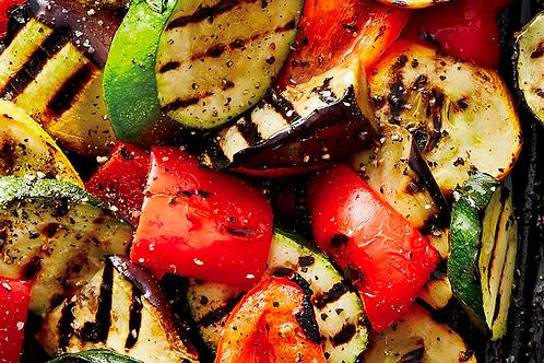 Assiette de légumes grillés / gegrilde groenten