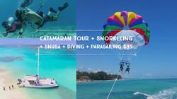 Catamaran Tour + Snorkeling + Snuba -Div