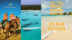Saona Island +Private Horse Riding finis