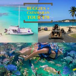 Buggies + Catamaran Tour
