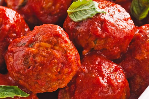 Boulettes sauce tomate / Balletjes met tomatensaus