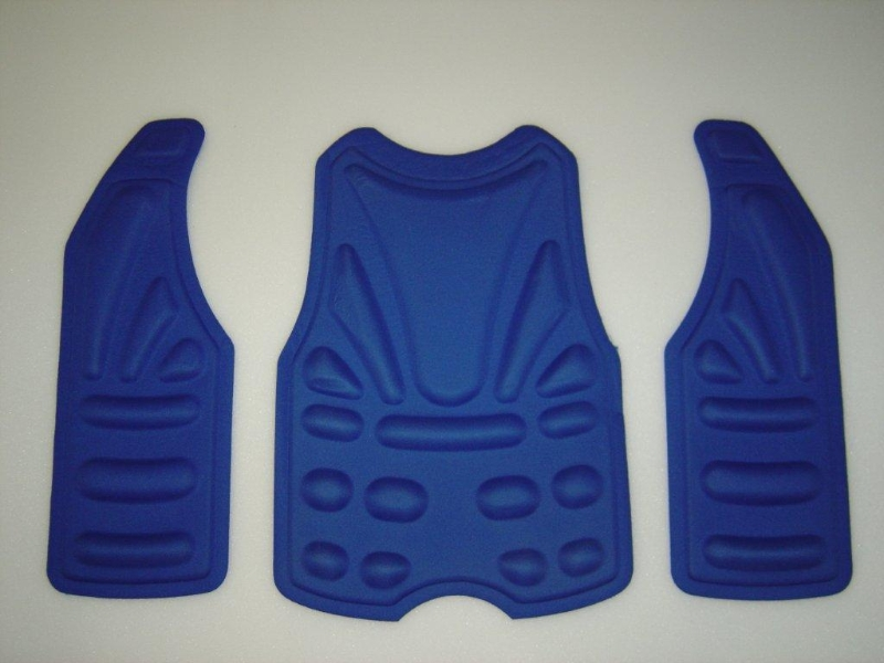 Chest Protector Thermoformed