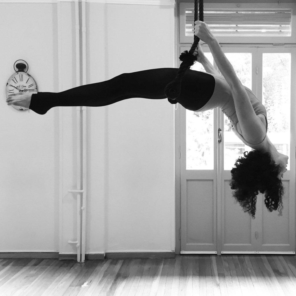 Trapeze με την Ελένη Κόντζιλα