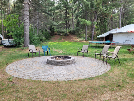 Communal firepit with FREE firewood