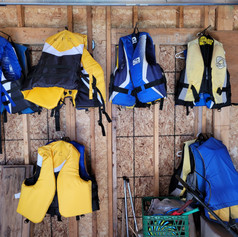 Life jackets - complimentary for the our guests