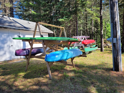 Kayaks and paddle boards for your enjoyment at no cost