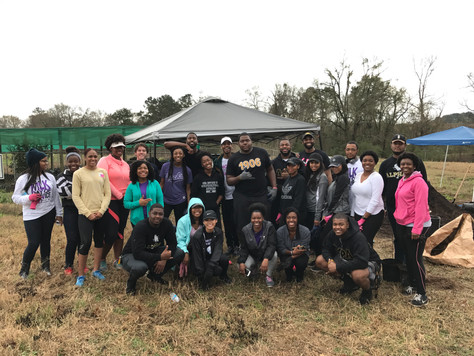 Keep Nac Beautiful participates in MLK Day of Service