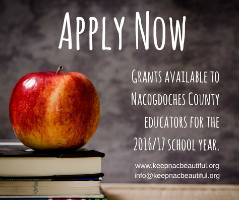 Education Grants Available for Nacogdoches County Schools