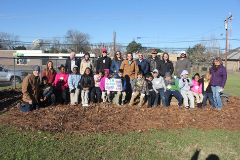 TJR Elementary Garden Club Thanks Keep Nacogdoches Beautiful