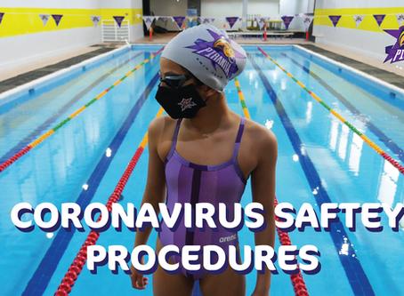 CORONAVIRUS SAFTEY PROCEDURES - Reopening Date: Unknown