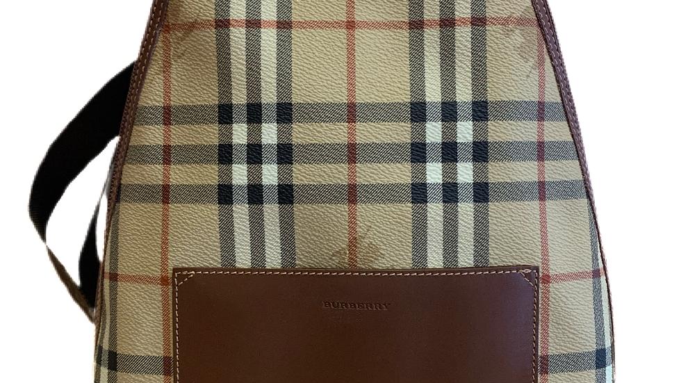 Burberry Haymark Check Backpack