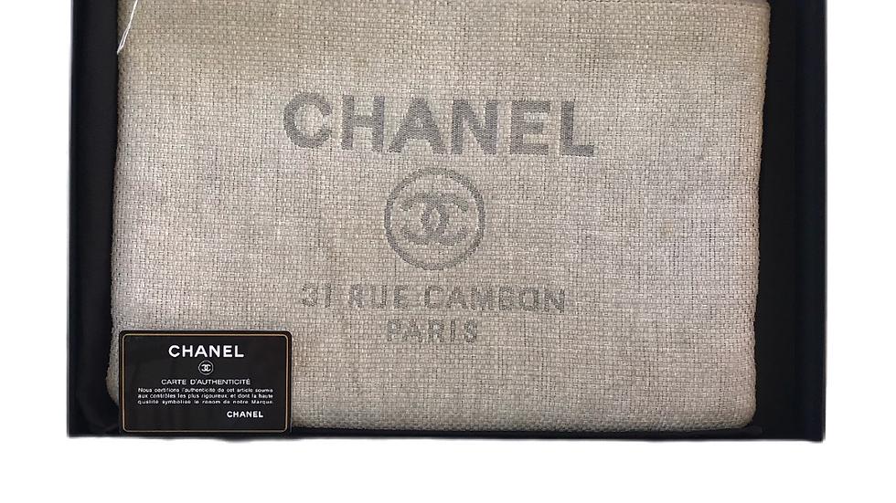 Chanel Cambon Tweed Clutch