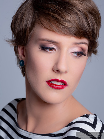 Make-up Red Lips