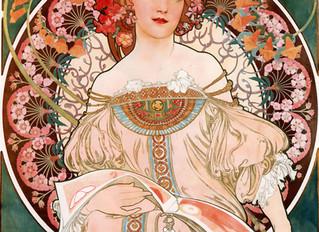 Alphonse Mucha, inspiración para la fabricación de Vidrieras Artísticas.