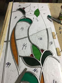 curso_vidrio_Artistico_tiffany_vidrieras_lamparas_palencia_2