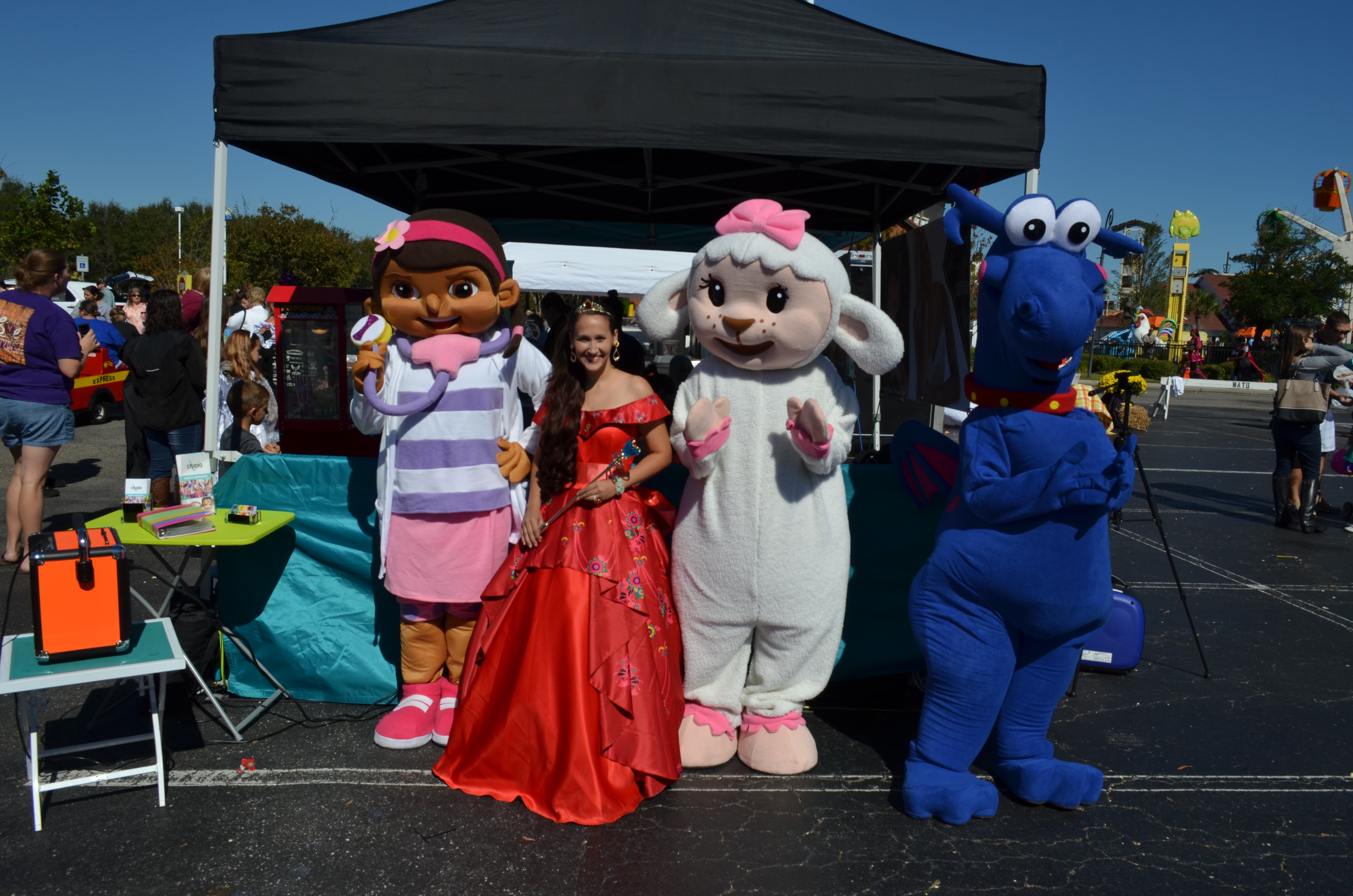 Disney Character Performers