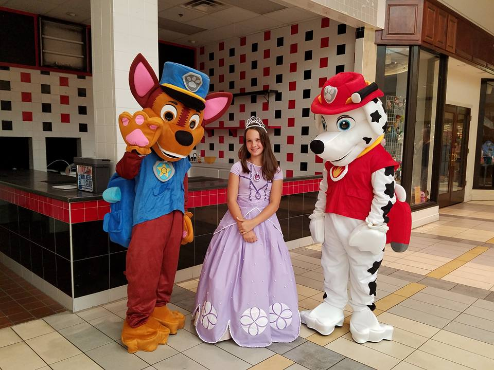 Paw Patrol and Princess Sofia