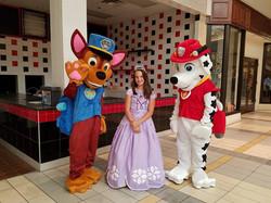 Paw Patrol and Princess Sofia