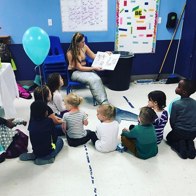 Every birthday party needs a story time!