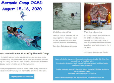 Mermaid Camp OCMD