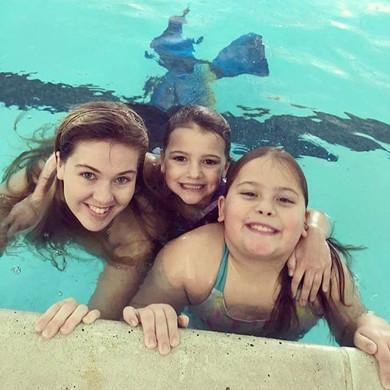 Had a great time at mermaid Brynn's birt