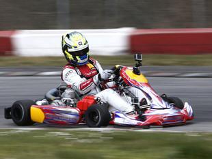 Kart fahren mit den Rennfahrern Nico Müller aus der Schweiz und Markus Winkelhock aus Deutschland